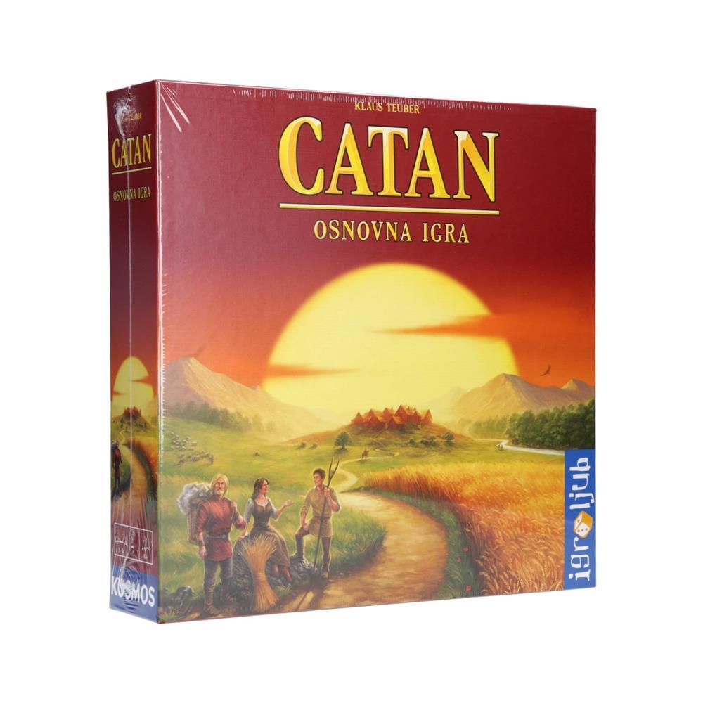 Igroljub Družabna igra Catan - osnovna