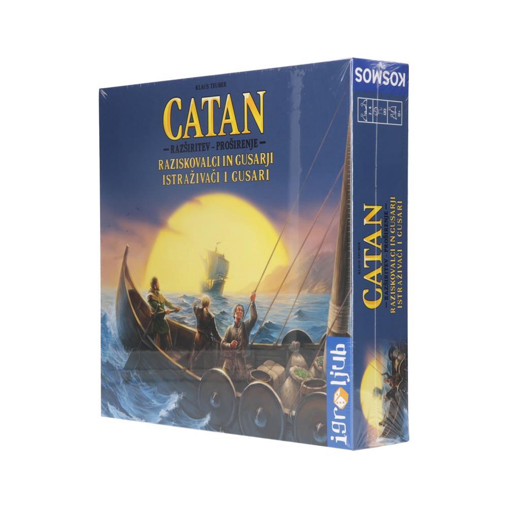 Igroljub Družabna igra Catan - razširitev igre Raziskovalci in Gusarji