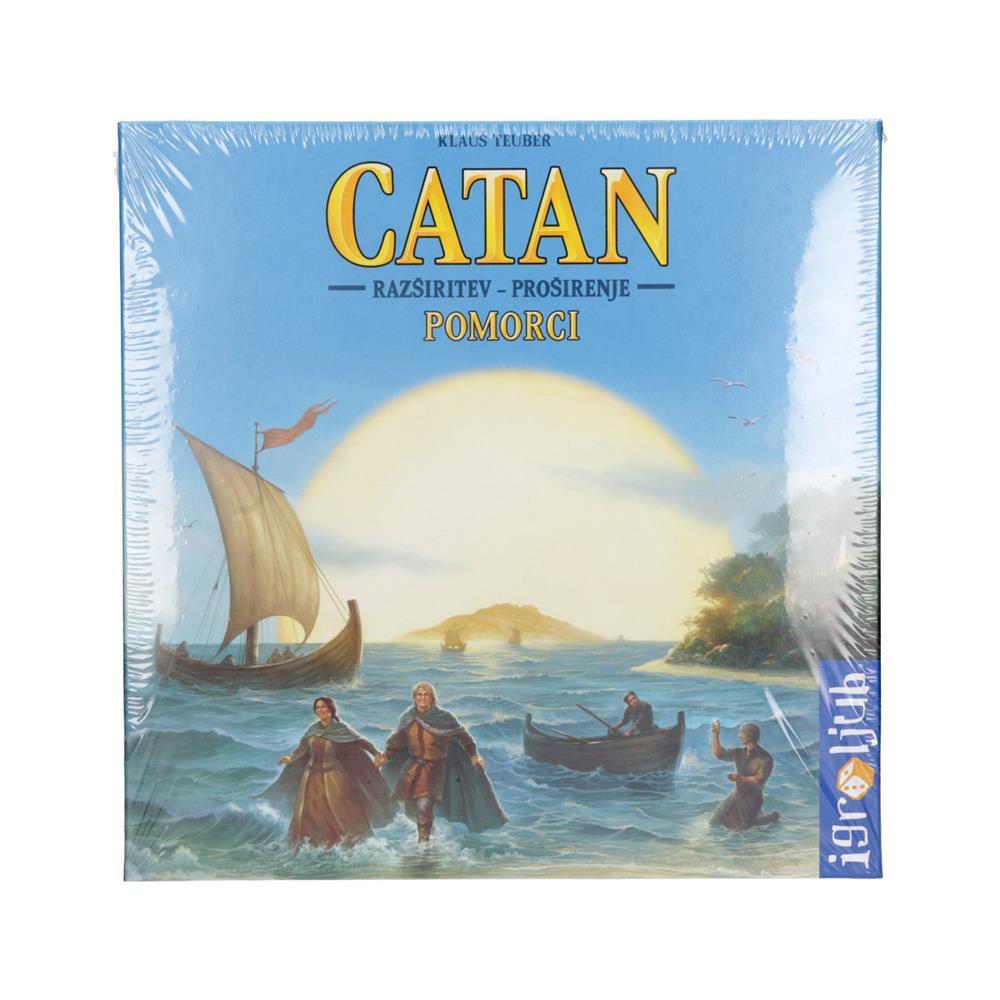 Igroljub Družabna igra Catan - razširitev igre Pomorci