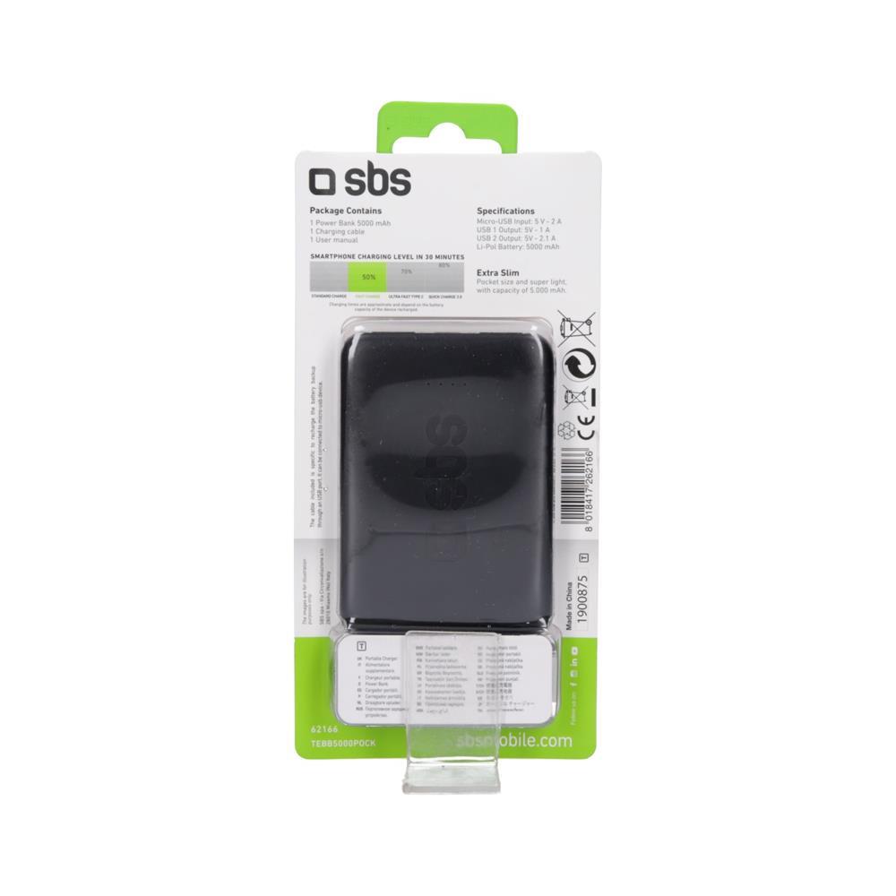 SBS Polnilna baterija Pocket (TEBB5000POCK)