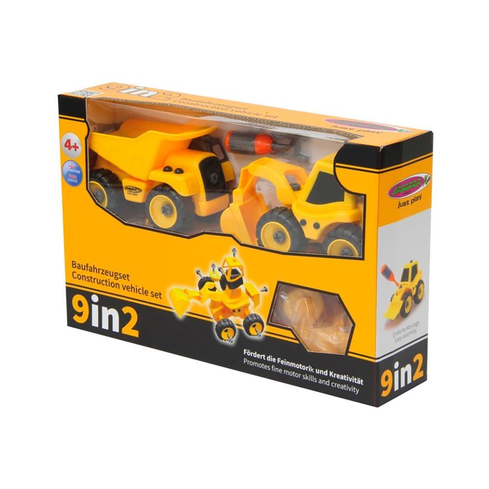 Jamara Set gradbenih vozil za otroke 9 v 2