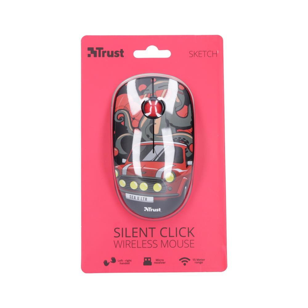Trust Brezžična miška Sketch Silent