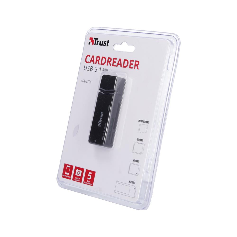 Trust Čitalec kartic Nanga USB 3.1
