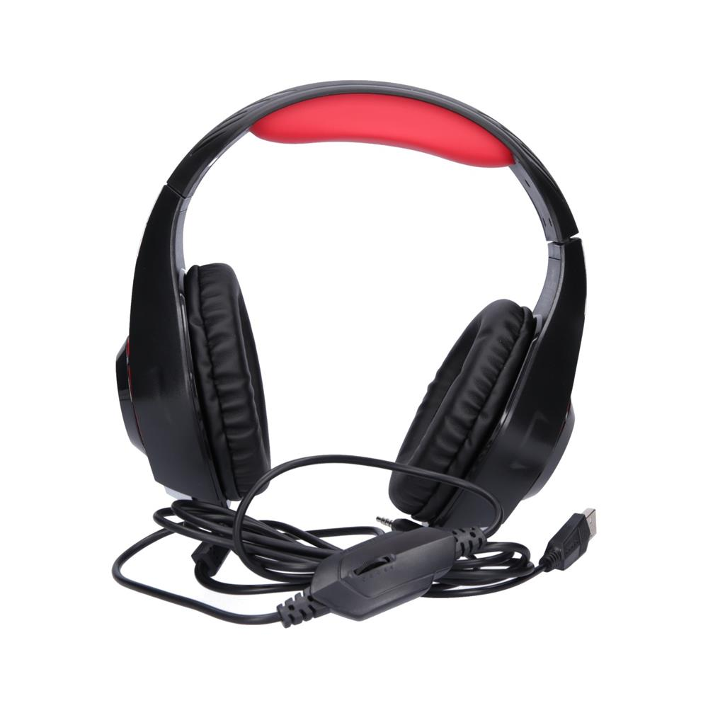 Trust Gaming slušalke osvetljene GXT 313 Nero