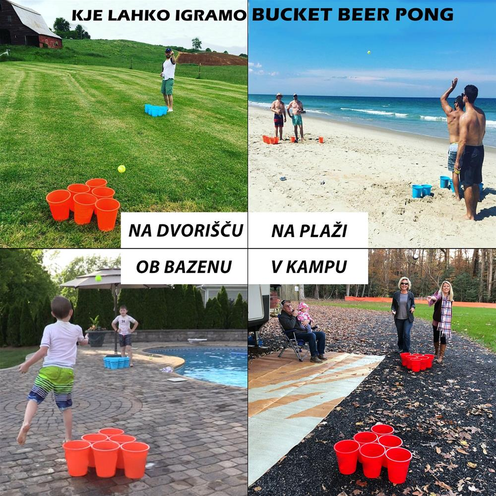 Lifetime Games Zabavna igra Giant Bucket Beer Pong XXL