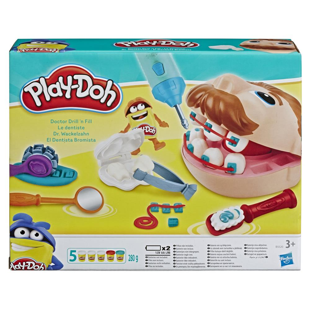 Dexyco Družabna igra Play-Doh Dr. Drill n Fill