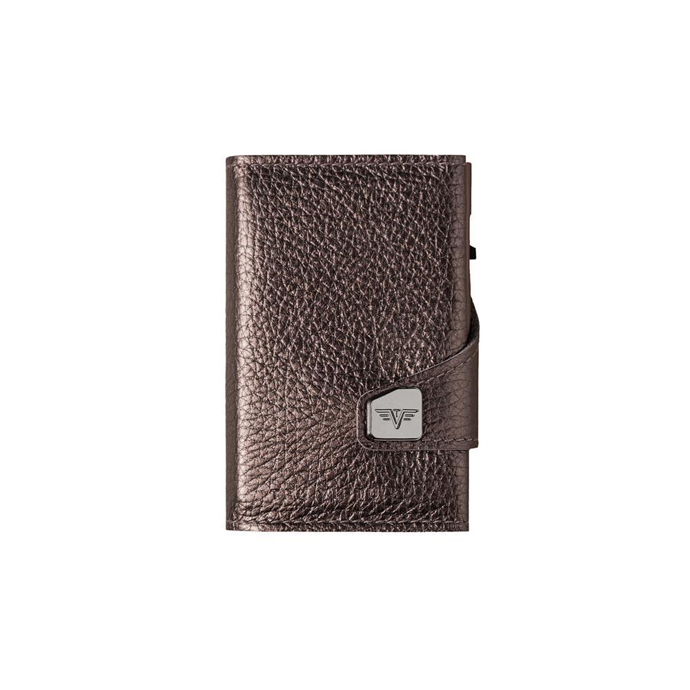 Pametna denarnica Click n Slide Brown Metallic/Brown