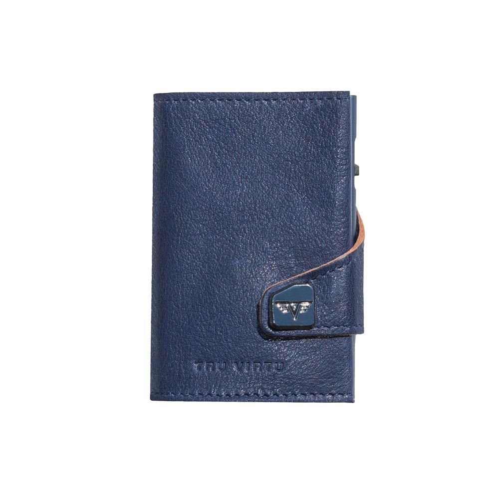 TRU VIRTU Pametna denarnica Click n Slide Caramba Blue-Sand/Titan