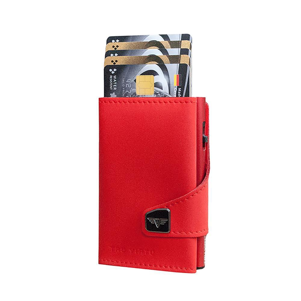 TRU VIRTU Pametna denarnica Click n Slide Red Matt/Red