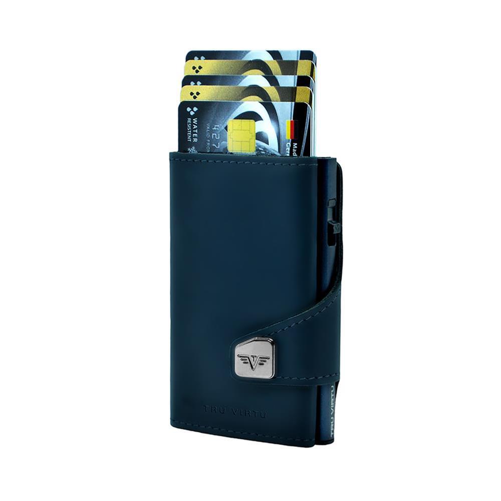 TRU VIRTU Pametna denarnica Click n Slide Navy Matt/Titan