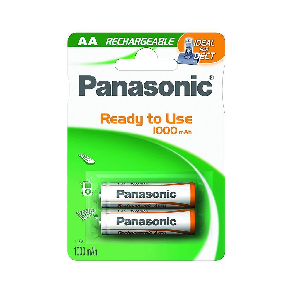 Panasonic NiMH polnilni baterijski vložek 2xAA (P-6P/2BC1100 DECT)