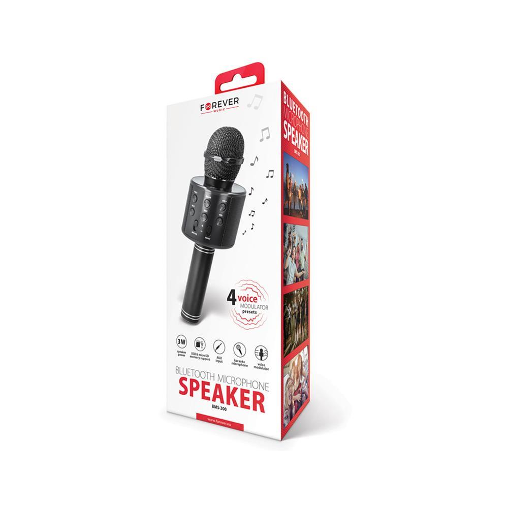 Forever Mikrofon z bluetooth zvočnikom BMS-300