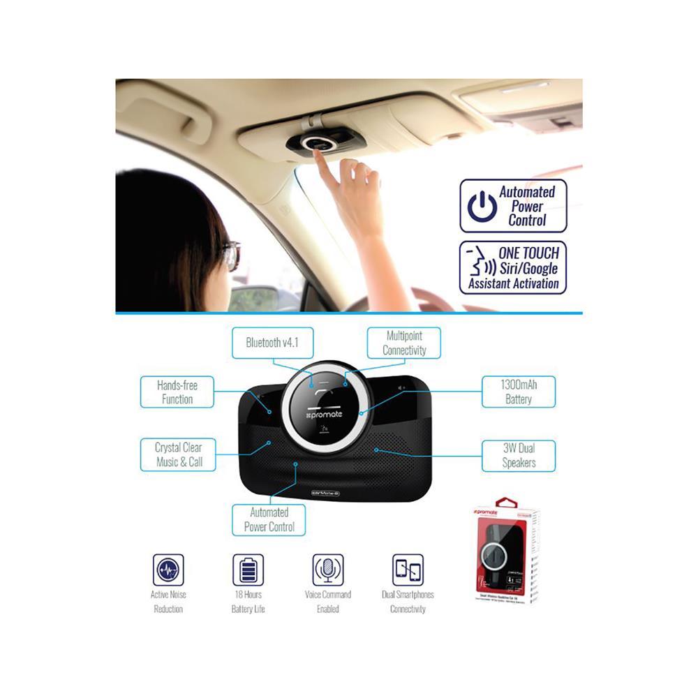 PROMATE Bluetooth avtoinštalacija CarMate-8