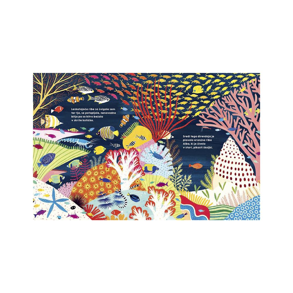 Založba Družina Slikanica Stoletna riba Alba