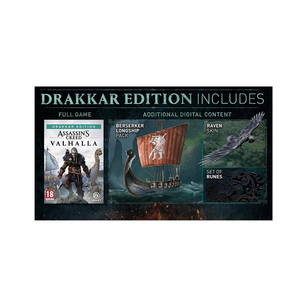 UBISOFT Igra Assassin's Creed Valhalla Drakkar Edition za Xbox One