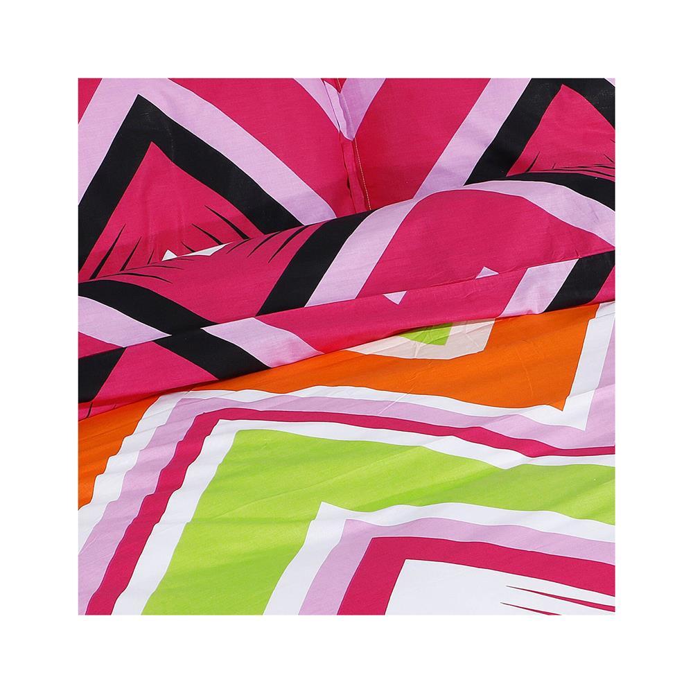 Svilanit Bombažna posteljnina Zig Zag Colors