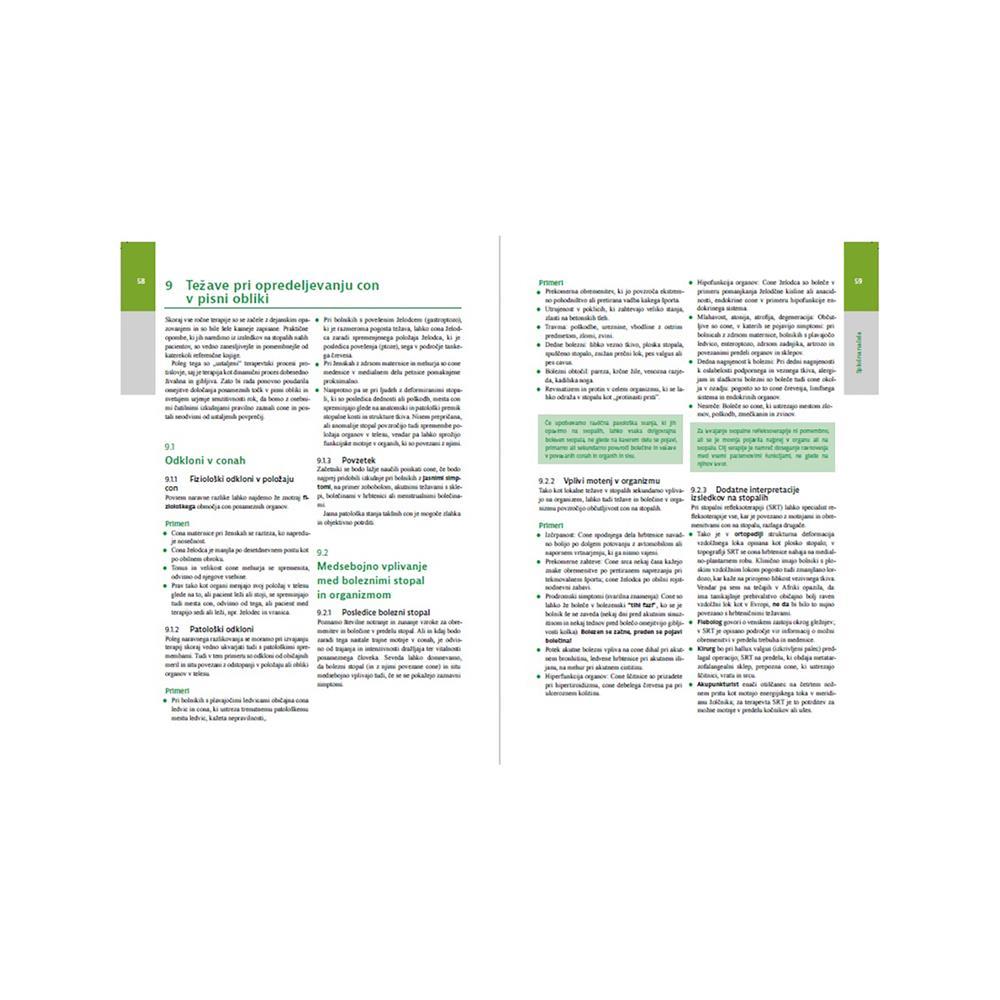 Založba Vida Temeljni učbenik za terapevte: Refleksoterapija stopal
