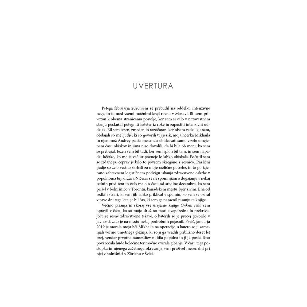 Založba Družina Knjiga Onkraj reda - Še 12 pravil za življenje