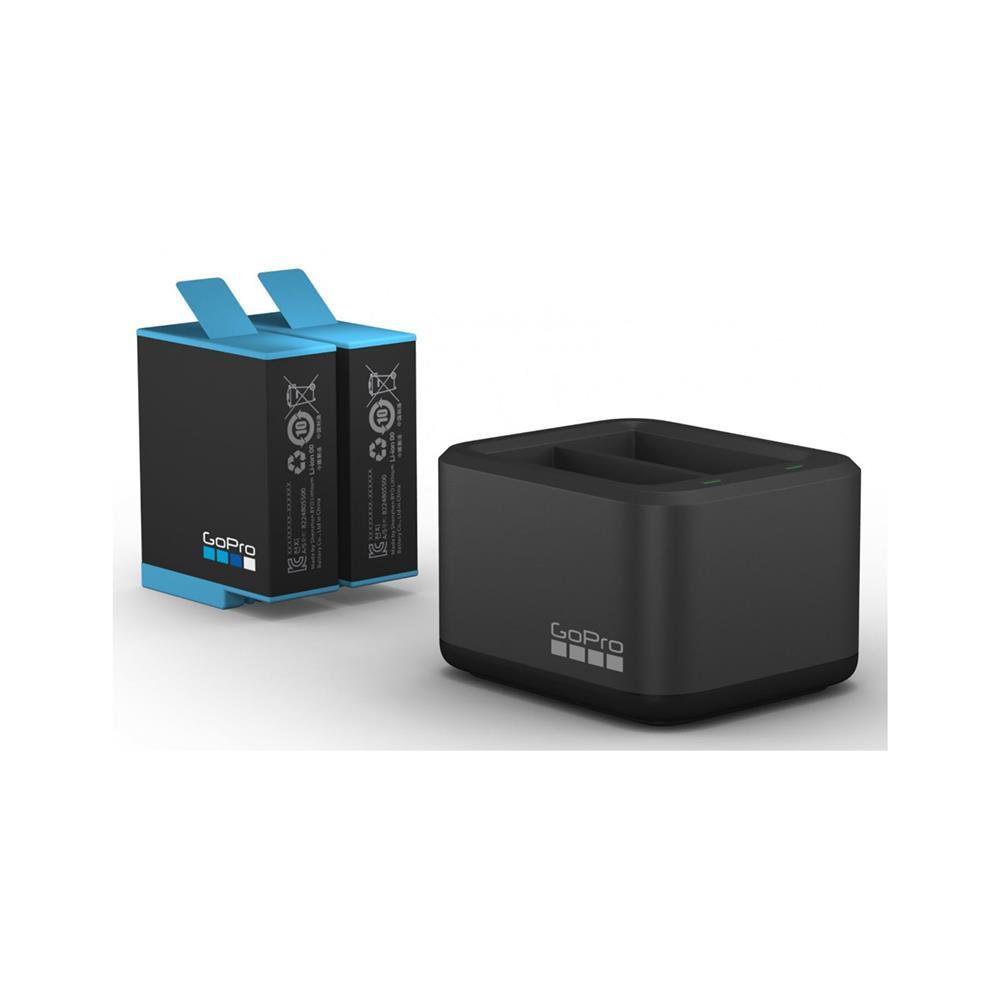 GoPro Dvojni polnilec in baterija za kamero HERO9 (ADDBD-001-EU)
