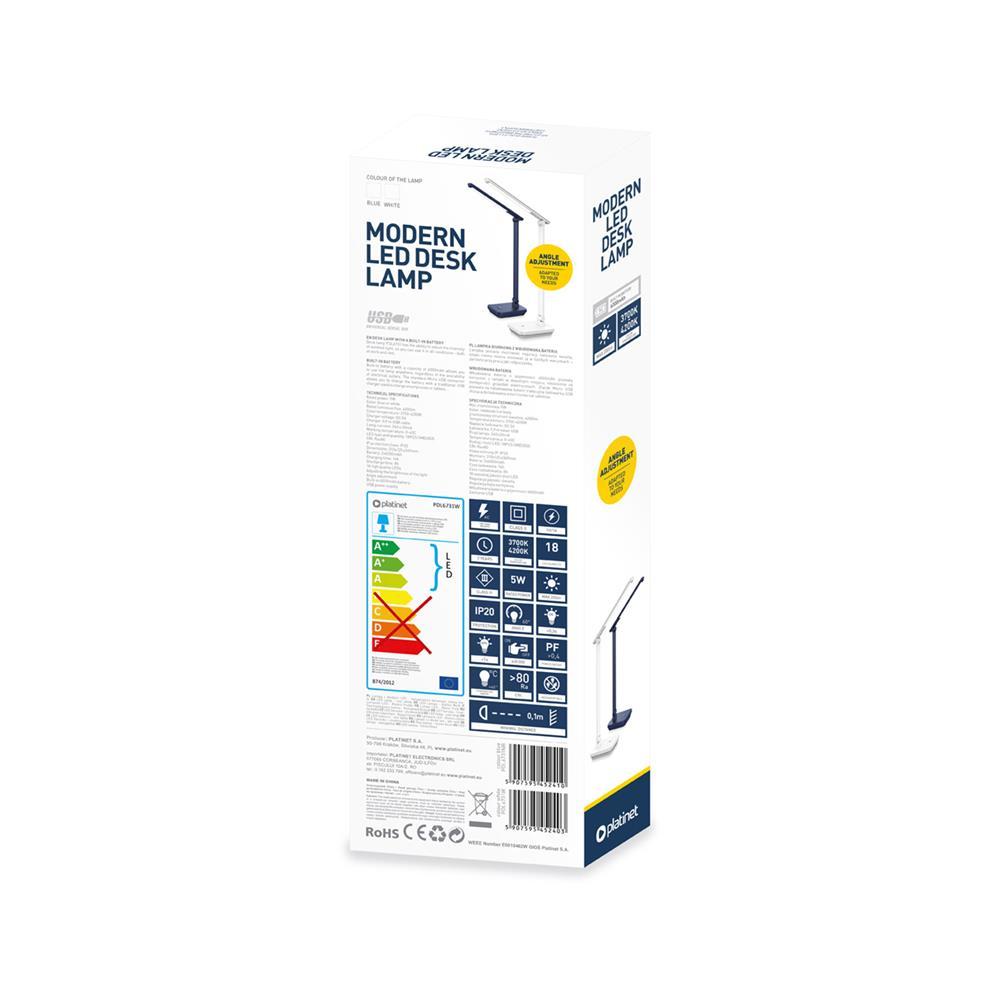 Platinet Namizna LED lučka (PDL6731NB)