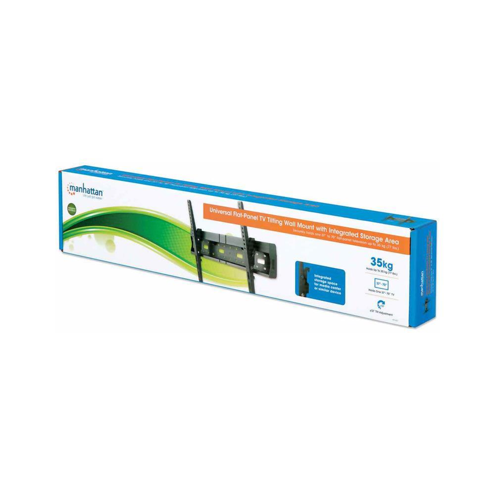 MANHATTAN Nagibni stenski nosilec za TV diagonale od 94 cm do 178 cm
