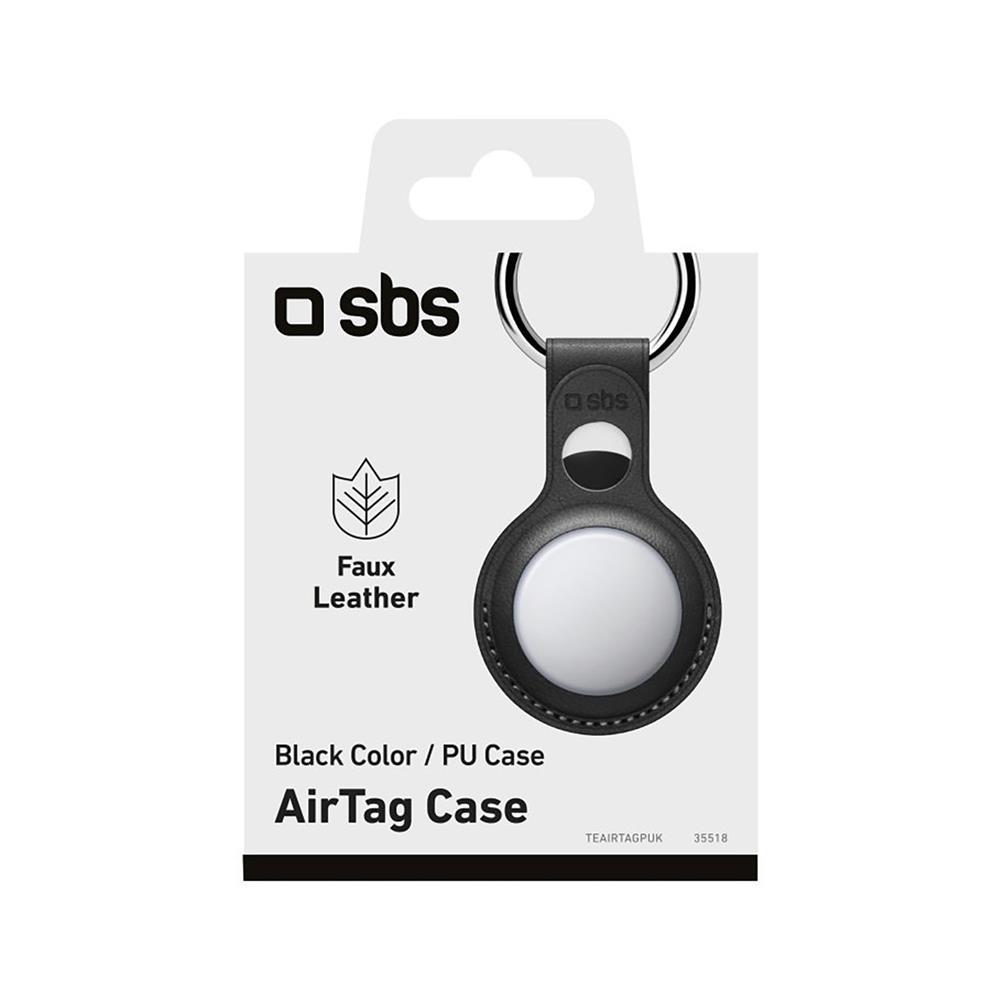 SBS AirTag obesek iz umetnega usnja (TEAIRTAGPUK)