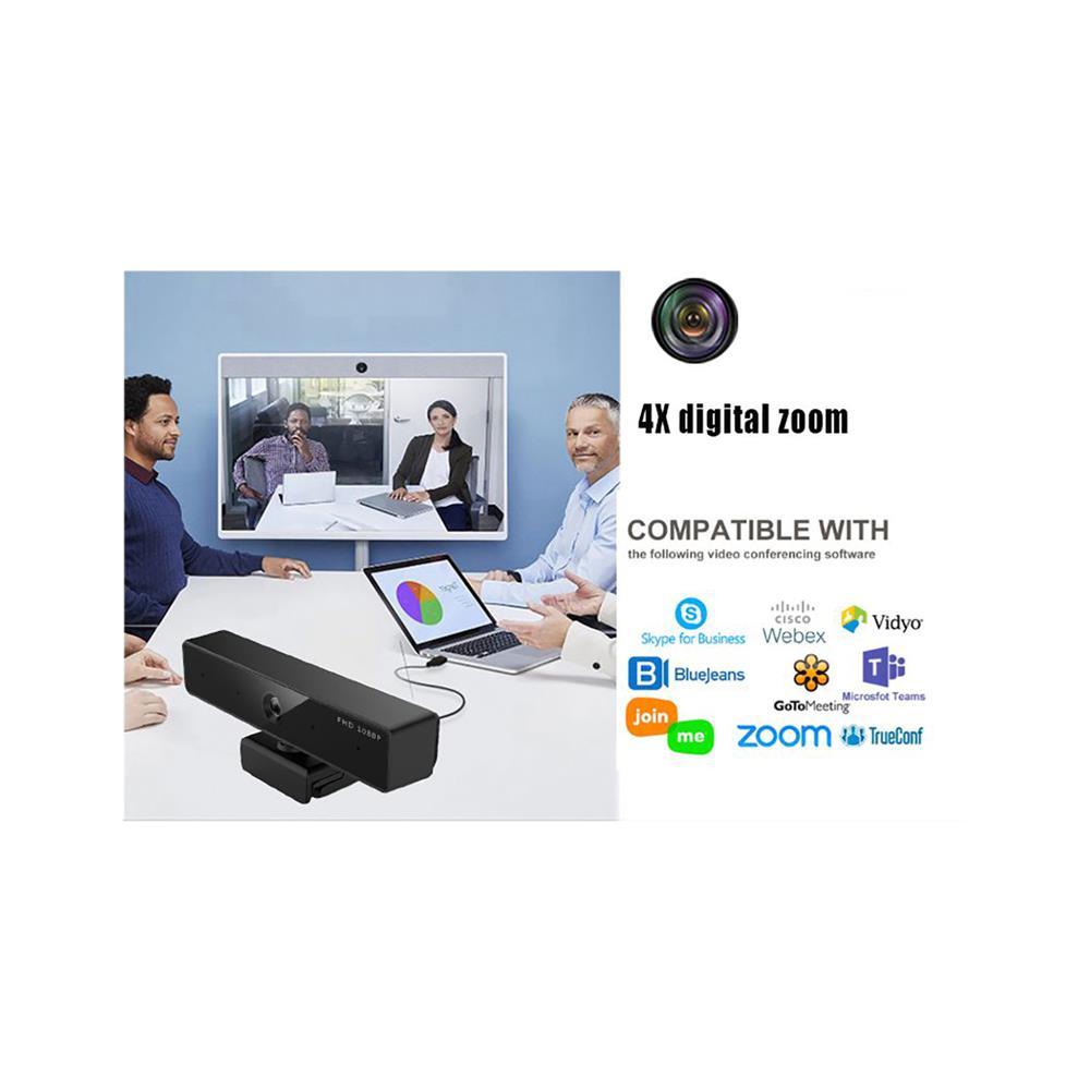 Festina Spletna videokonferenčna kamera FL-L93FY HD ZOOM USB