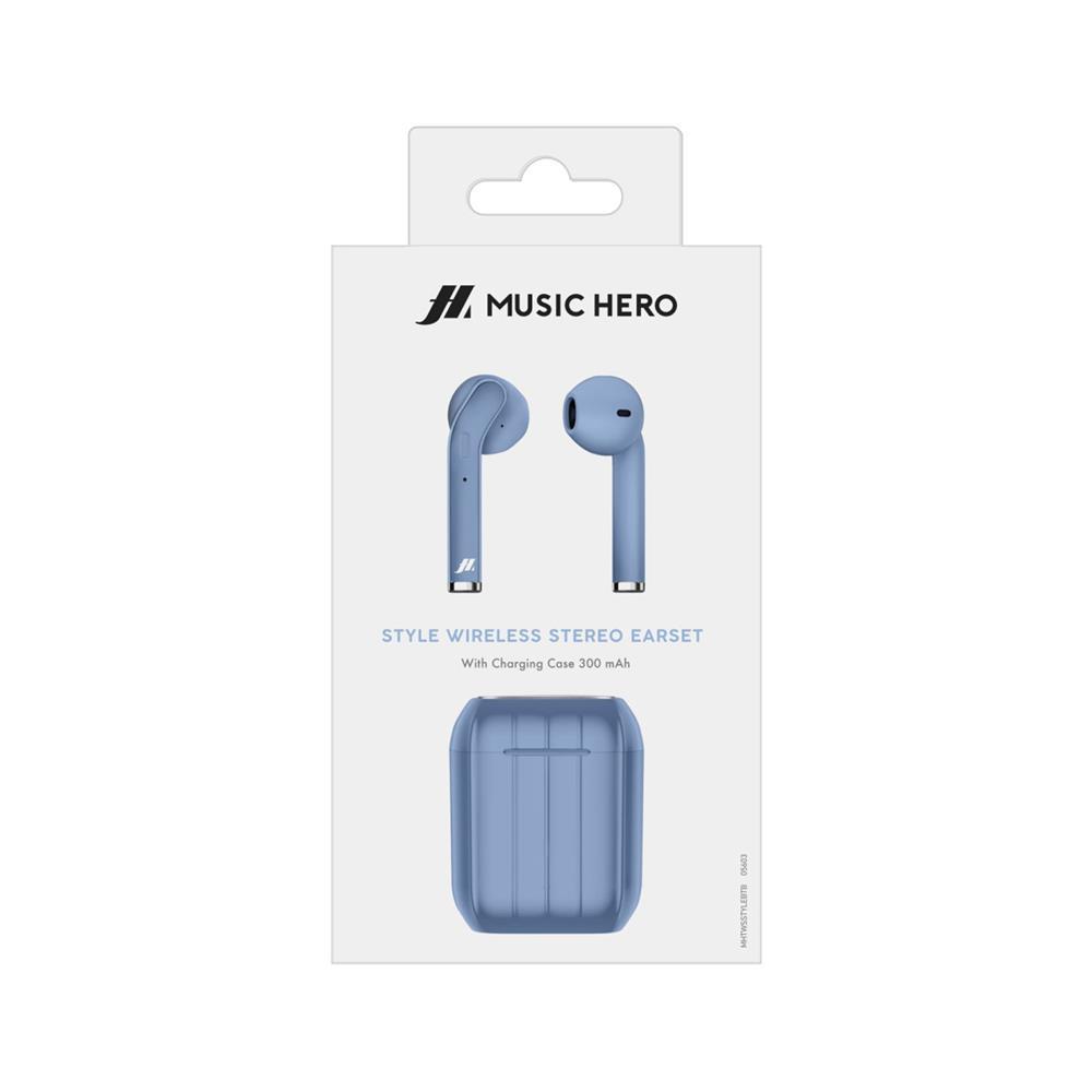 SBS Brezžične stereo slušalke Style Music Hero (MHTWSSTYLEBTB)