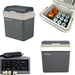 Camry Električna hladilna torba CR8065 24 L siva