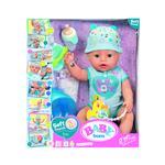 Zapf BABY born® Soft Touch deček z dodatki modra