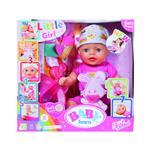 Zapf BABY born® Baby Soft Touch interaktivni dojenček roza