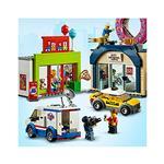 LEGO City Otvoritev slaščičarne s krofi 60233 več-barvna