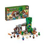 LEGO Minecraft Creeperjev™ rudnik 21155 več-barvna