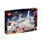 LEGO Super Heroes Starkov reaktivec in napad z droni 76130 več-barvna
