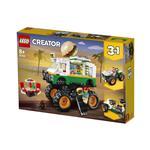 LEGO Creator Pošastni tovornjak s hamburgerji 31104 več-barvna