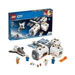 LEGO City Lunarna vesoljska postaja 60227 več-barvna