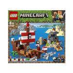 LEGO Minecraft Dogodivščina s piratsko ladjo 21152 več-barvna
