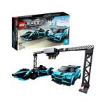 LEGO Speed Formula E Panasonic Jaguar Racing GEN2 in Jaguar I-PACE eTROPHY 76898 več-barvna