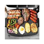 Cecotec Električni žar s stojalom Perfect Country BBQ črna