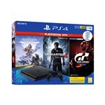 Sony PlayStation® 4 set in Hits igre (GT Sport-HZD CE-UC4) 1 TB črna