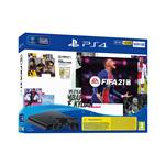 Sony PlayStation® 4 set z igro FIFA 21 in igralnim ploščkom DualShock 4 500 GB črna