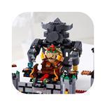 LEGO Super Mario Razširitveni komplet z bojem z grajskim šefom Bowserjem 71369
