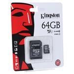 KINGSTON Kartica Micro SDXC 64GB Class10+adapter 64 GB
