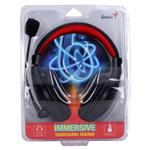 Genius Gaming slušalke HS-520 črna