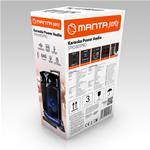 MANTA Karaoke zvočnik SPK5003 PRO črna