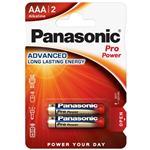 Panasonic Pro Power Gold alkalni baterijski vložek 2xAAA (LR03PPG/2BP)