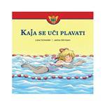 Založba Družina Slikanica Kaja se uči plavati barvna