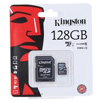 KINGSTON Kartica Micro SDXC 128GB Class10 + adapter