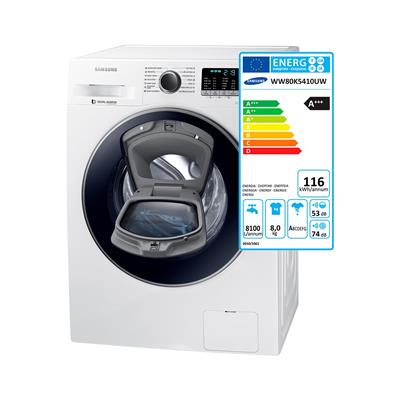 Samsung Pralni stroj Add Wash WW80K5410UW