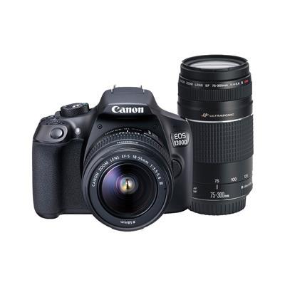 Canon EOS1300D18-55+75-300DC